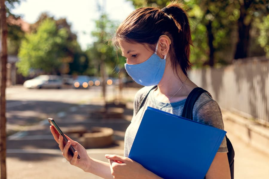 How Wearing a Mask for COVID-19 Affects Your Hearing